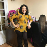 """Maria P. - Temple Hills <span class=""""translation_missing"""" title=""""translation missing: en.application.care_types.child_care"""">Child Care</span>"""